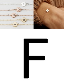 Fashion Rose Gold-f (6mm) Stainless Steel Engraved Geometric Bracelet