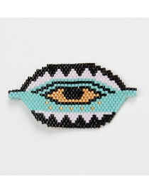 Fashion Black Bead Braided Eye Accessories