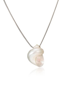 Fashion Golden Conch Chain Necklace