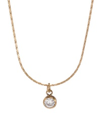 Fashion Golden 18k Stainless Steel Necklace With Titanium And Diamonds