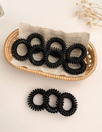 Fashion 10 Black Boxes In Frosted Black No Sign Line Telephone Ring