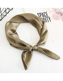 Fashion Pickled Vegetables Multifunctional Use Of Silk Scarf And Shawl