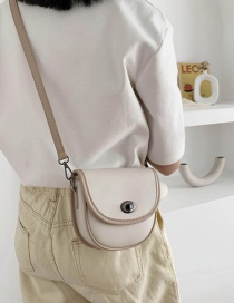 Fashion Khaki Single Shoulder Bag