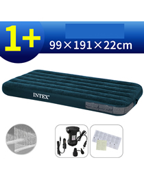 Fashion 99cm Wide Bed Household Thickened Folding Inflatable Mattress