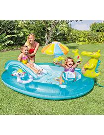 Piscina Inflable Para Bebés En Crocodile Park