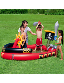 Fashion Pirate Ship Pirate Ship Inflatable Marine Ball Infant Children's Pool