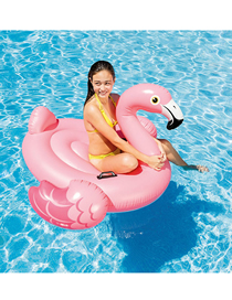 Fashion Pink Little Flamingo Mount Inflatable Floating Row