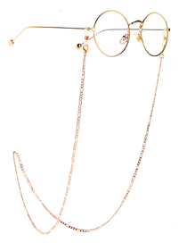 Fashion Golden Color-retaining Non-slip Chain Glasses Chain