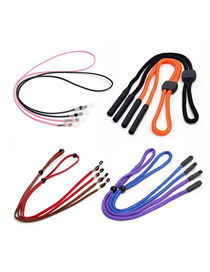 Fashion Set Of 8 Set Of Sports Wax Rope Anti-skid Glasses Chain(8 Pieces) (8 Pieces)