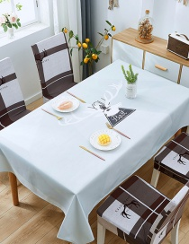 Fashion Yilu Has You (140 * 180cm Without Chair Cover) Printed Dustproof And Waterproof Household Tablecloth