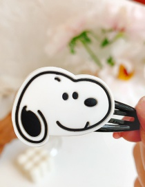 Fashion Puppy Flower Animal Hit Color Alloy Rubber Children Hairpin