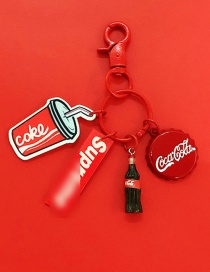 Fashion Cola Coke Apple Bluetooth Wireless Headset Silicone Pendant (3rd Generation Pro)