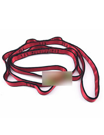 Fashion Red Aerial Anti-gravity Yoga Stretch Band