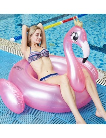 Fashion Pink Pvc Inflatable Flamingo Floating Swimming Ring