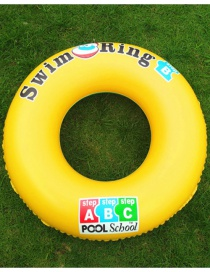 Fashion 90# Thickened Pvc Adult Inflatable Swimming Ring
