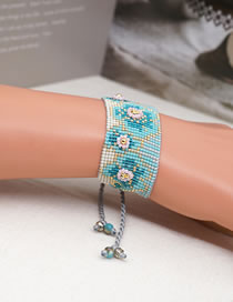 Fashion Plum Blossom Mizhu Braided Plum Bracelet