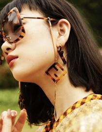 Fashion Glasses Chain Alphabet Acrylic Chain Alloy Eye Chain