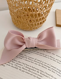 Fashion [hairpin] Pink Candy-colored Hairpin With Three-dimensional Bow
