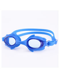 Fashion Blue Fish Hd Anti-fog Waterproof Crab Goggles