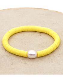 Fashion Silver Color Flower Cage Natural Freshwater Oyster Pearl Bracelet