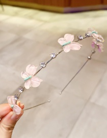 Fashion Dark Color Square Hairpin Wool Pearl Fruit Geometric Alloy Hairpin