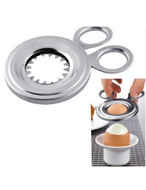 Fashion Silver Stainless Steel Egg Cutter
