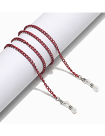 Fashion Red Unfading Alloy Glasses Chain
