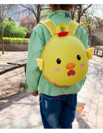 Fashion Pink Bear Doll Canvas Children Backpack