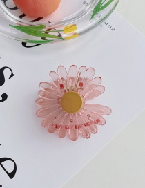 Fashion Water Pink Daisy Flower Resin Hit Color Shark Catch