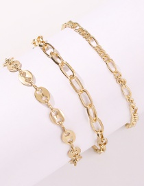 Fashion Yellow Small Butterfly Resin Wax Rope Braided Bracelet