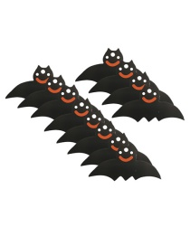 Fashion Bat 50 Halloween Pumpkin Skull Five-pointed Star Tags