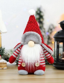 Fashion Pointed Leifeng Hat Faceless Sitting Doll Santa Claus Faceless Doll Doll Window Decoration Ornaments