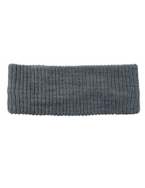 Fashion Light Gray Pure Color Knitted Empty Top Ponytail Hat