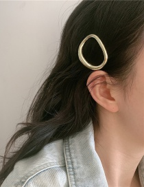 Fashion Gold Color Coloren About 10g Metal Circle Alloy Hollow Hairpin