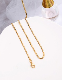 Fashion Gold Color Alloy Thin Chain Necklace