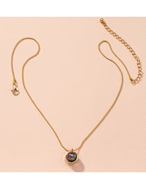 Fashion Golden Pearl Round Alloy Necklace