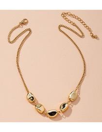 Fashion Golden Geometric Alloy Necklace