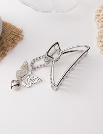 Fashion Silver Color Butterfly Chain Love Alloy Hollow Catch