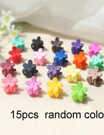 Fashion 15 Mixed Colors Small Catch Clip Female Small Childrens Fringe Clip Candy Hair Clip