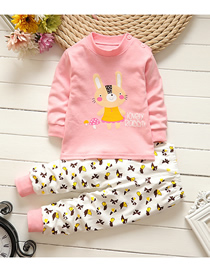Fashion Mushroom Rabbit No. 75/120 Is Recommended For Height 110 Cotton Printed Childrens Underwear And Home Service Suit