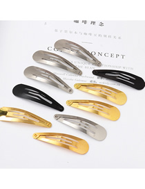 Fashion Color Mixing Geometric Shape Alloy Hollow Hairpin