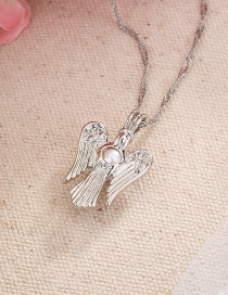 Fashion Angel Wings Angel Wing Pearl Necklace