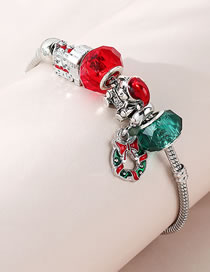 Fashion Color Mixing Bowknot Crystal Alloy Bracelet