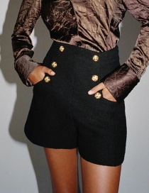 Fashion Black Diamond Shorts