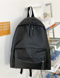 Fashion Black Without Pendant Shiny Reflective Oxford Backpack