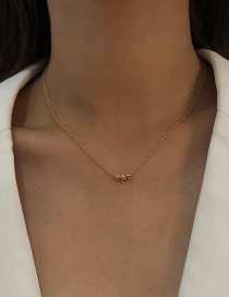 Fashion Gold Color Alloy Geometric Thin Chain Necklace