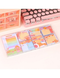 Fashion Boxed Girl Project Cartoon Printing Convenience Sticker Box