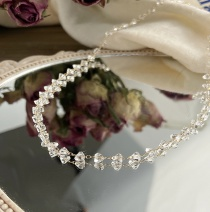 Fashion Crystal Crystal Pearl Bead Alloy Necklace