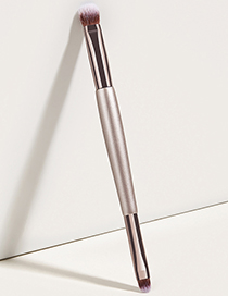 Fashion Champagne Gold Single Double-headed Champagne Gold Concealer Brush