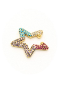 Fashion Star Micro Diamond Five-pointed Star Love Without Pierced Ear Clip
